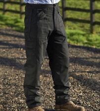 "Champion Mens Wenlock Action Work Trouser Multi Zip Pocket Classic Lightweight Black 42 In. 29"" (short)"