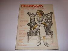 REDBOOK Magazine, January, 1972, GLORIA STEINEM INTERVIEW, DR. WILLIAM MASTERS!