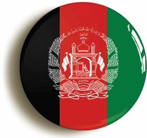 AFGHANISTAN AFGHAN NATIONAL FLAG BADGE BUTTON PIN