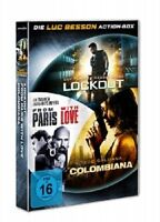 LUC BESSON ACTION DVD BOX (LOCKOUT, COLOMBIANA, FROM PARIS WITH LVOE) 3 DVD NEU