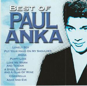 "CD  PAUL  ANKA :  "" BEST OF "" 18 Titres"