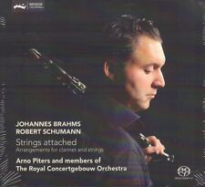 BRAHMS & SCHUMANN - STRINGS ATTACHED - ARNO PITERS (2013 CLASSICAL SACD)