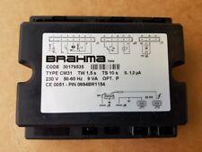 BRAHMA QUADRO CM31  TW 1,5S TS10 ART. 30179535 30180185 SCHEDA BERTELLI FM37