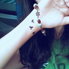 3×Sexy Women Removable Waterproof Temporary Tattoo Birds Fake Tattoo Art Sticker