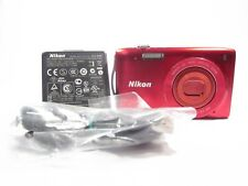 Nikon COOLPIX S3200 Digital Camera -RED