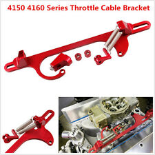 4150 4160 Series Red Billet Aluminum Throttle Cable Bracket Carburetor 350 New