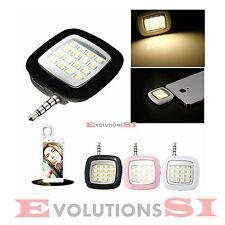 LUZ LED FLASH FOTO VIDEO SMARTPHONE LIGHT CELULAR MOVIL TABLET SELFIE