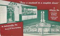 Atlanta, GEORGIA - Jacksonville, FLORIDA - Leb's Restaurant - ADVERTISING