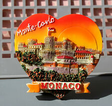 TOURIST SOUVENIR 3D RESIN FRIDGE MAGNET ---- Monaco Monte Carlo