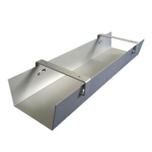 Kabelwanne abklappbar 800 mm ERGOBASIS Stahlblech für Schreibtisch NEU
