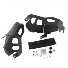 Black Cylinder Head Guard Protector Cover for 2013 & Up BMW R1200GS Adventure