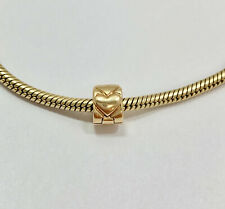 Authentic Pandora 14k Gold Beating Heart Clip Charm 585 ALE 750243 Retired