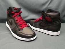 Nike Men's Air Jordan 1 Retro High OG Fashion Sneakers Black Red Size 11 NWOB!