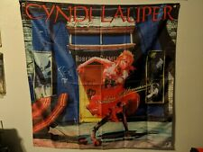 Cyndi lauper  Flag 4'x4'