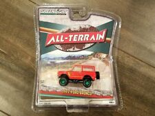 GREENLIGHT 1:64 ALL-TERRAIN SERIES 4 1977 FORD BRONCO DIECAST CAR 35050-B CHASE