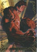 2018 Marvel Masterpieces Gold Foil Signature Series #47 Red Hulk Tier 2