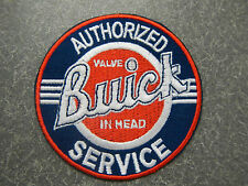 Buick Service Valve In Head Patch Authorized Service Iron On Nailhead 3 Inch New