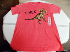 Boy's Savvy T-Rex T-Mex T-shirt Small New Cotton Nice Gift Very Fun