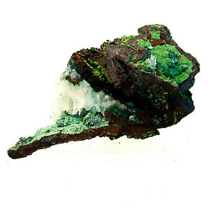 Conichalcite Malachite Calcite etc Ojuela Mine Mexico Mineral Specimen 86g 7cm