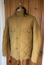 Barbour International - STEVE MCQUEEN - Cleveland Quilted Jacket -Yellow -Size M