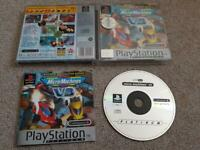 Micro Machines V3 PS1 Sony Playstation 1 Complete Platinum multiplayer VGC