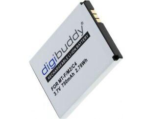 Power Akku für für AVM FRITZ!Fon 312BAT006 Telefon Akku Batterie Battery 750mAh