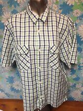 Medium Woolrich Southdown Short Sleeve Button Up Shirt NWT Mens A03
