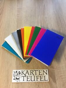 Taschenkalender 2022 mit Kartonumschlag in 10 Farben NEU!