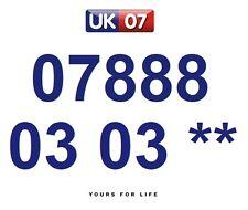 07888 03 03 **  - Gold Easy Memorable Business Platinum VIP UK Mobile Numbers