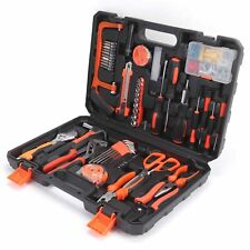 102 Hand Sets Hardware Tool Kit Household Repair Claw Hammer Screwdriver Rubber