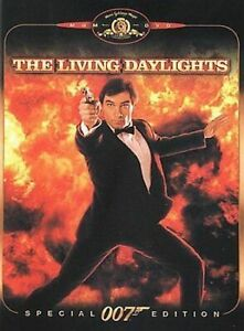 JAMES BOND 007 (THE LIVING DAYLIGHTS - SPECIAL EDITION DVD SEALED + FREE POST)
