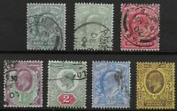 KEVII. 1/2d.(2) To 3d. Perf.14. Fresh Stamps With Good Colours & Perfs.  Ref:081