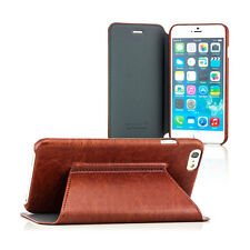 Luxury Schutzhülle f. Apple iPhone 6/6s+ Plus Smartphone Tasche Case Cover braun