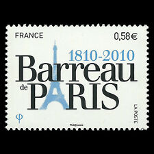 France 2010 - 200th Anniversary of the Paris Bar Association - Sc 3906 MNH