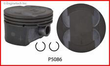 Engine Piston Set ENGINETECH, INC. P5086(6)STD