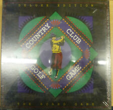 Vintage Country Club Golf Board Game Deluxe Edition Future Games 1990 New Sealed