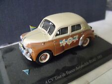 1/43  ELIGOR - RENAULT 4 CV tour de France Automobile R1062 - 1951