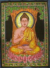 * indio hecho Buda Lentejuelas colgante de pared * Comercio Justo * GRANDE
