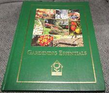 Gardening Essentials HC Book National Home Gardening Club 1999 Vegetables Flower