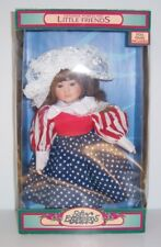 Soft Expressions Genuine Porcelain Little Friends STARS AND STRIPES Doll - New
