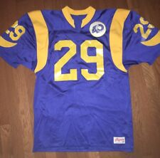 Authentic 1985 Eric Dickerson Rams Jersey by Ripon - Size 48 (40th Anniv.  Patch 8c353675c