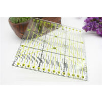 Plastic Quilting Patchwork Ruler Premium Quality Square Craft Sewing DIY Board