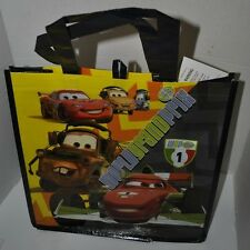 Cars Lightning McQueen Mater Disney Pixar Reusable Eco Shopping Tote Bag NEW