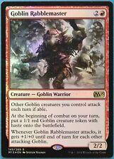 Goblin Rabblemaster FOIL Magic 2015 / M15 NM Red Rare CARD (223293) ABUGames