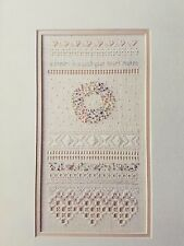The Victoria Sampler Cross Stitch Chart Child of Spring by Thea Dueck