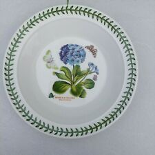 Portmeirion Botanic Garden Blue Primrose Soup Pasta Plate Bowl 21.5cm