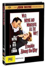 Trouble Along The Way DVD 1953 R4 John Wayne Donna Reed Charles Coburn