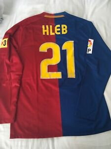 Barcelona player issue Hleb 2008/09 size L mint condition
