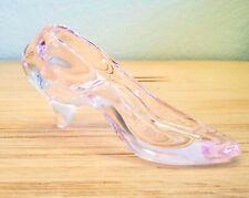 Vintage Pink Cinderella Style Glass Slipper EUC