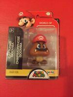 World of Nintendo Super Mario Captured Goomba 2.5-Inch Mini Figure